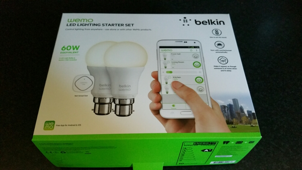 Belkin WeMo Smart Light Bulb starter kit – review | Gavin's Gadgets:image. The Belkin WeMo Smart Light Bulb starter ...,Lighting