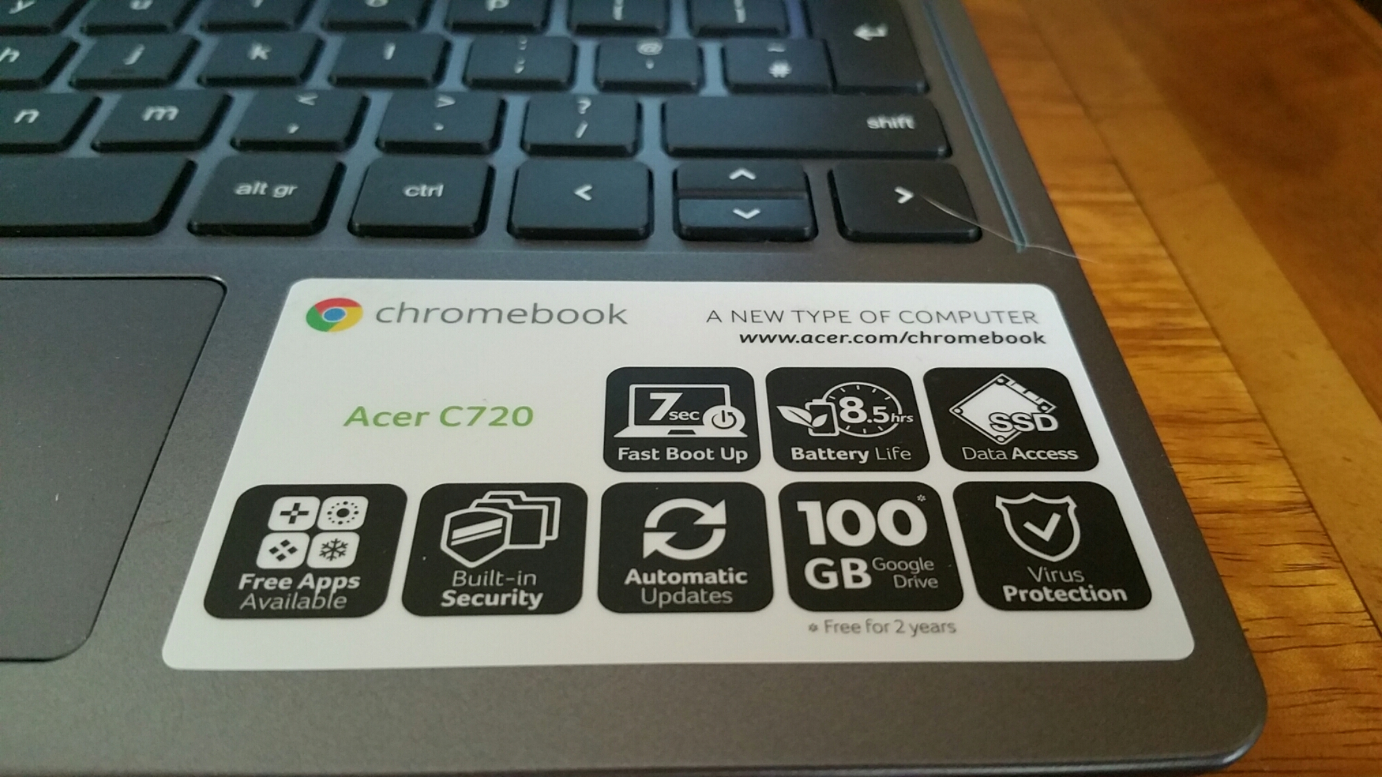 Acer C720 ChromeBook review | Gavin's Gadgets