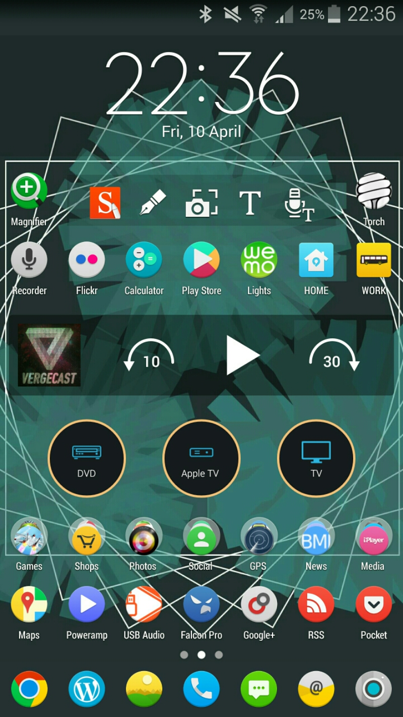 widgets on samsung note 4