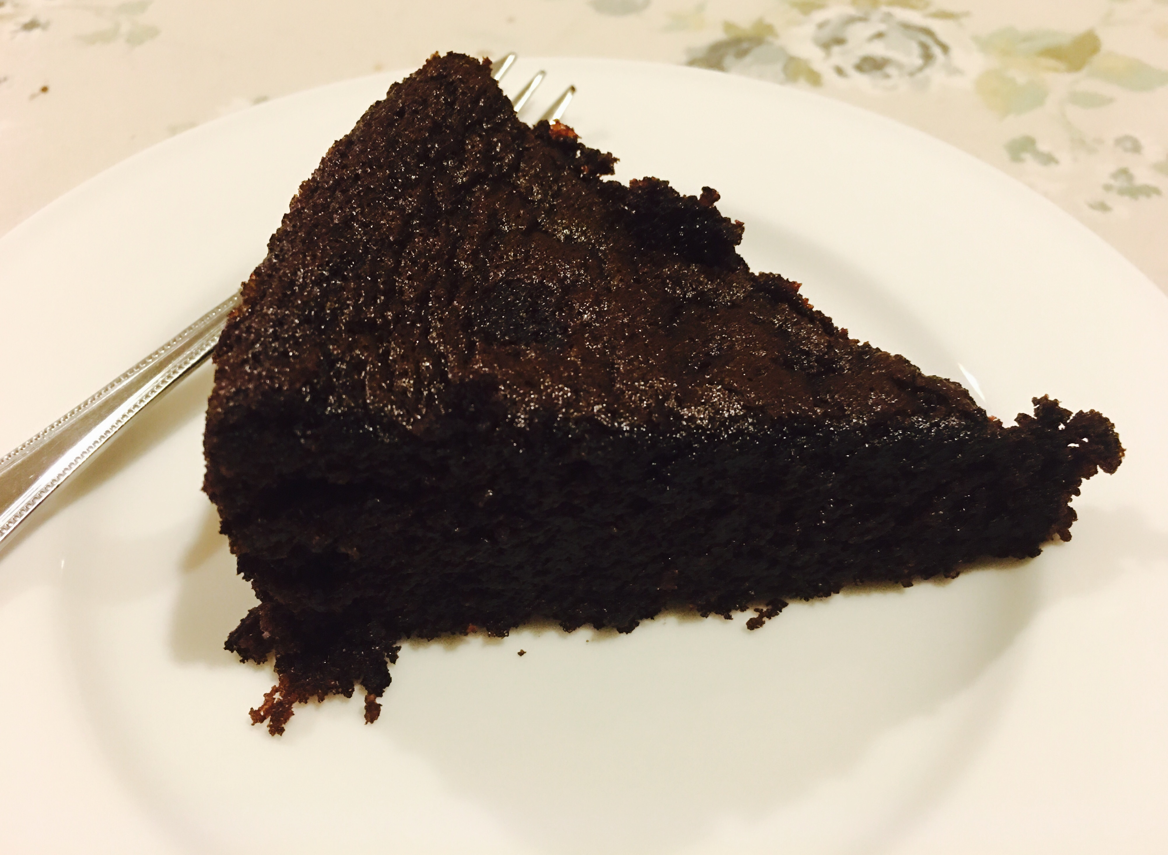 This Slice of Chocolate Cake – It's a whopping 29 calories – The ...