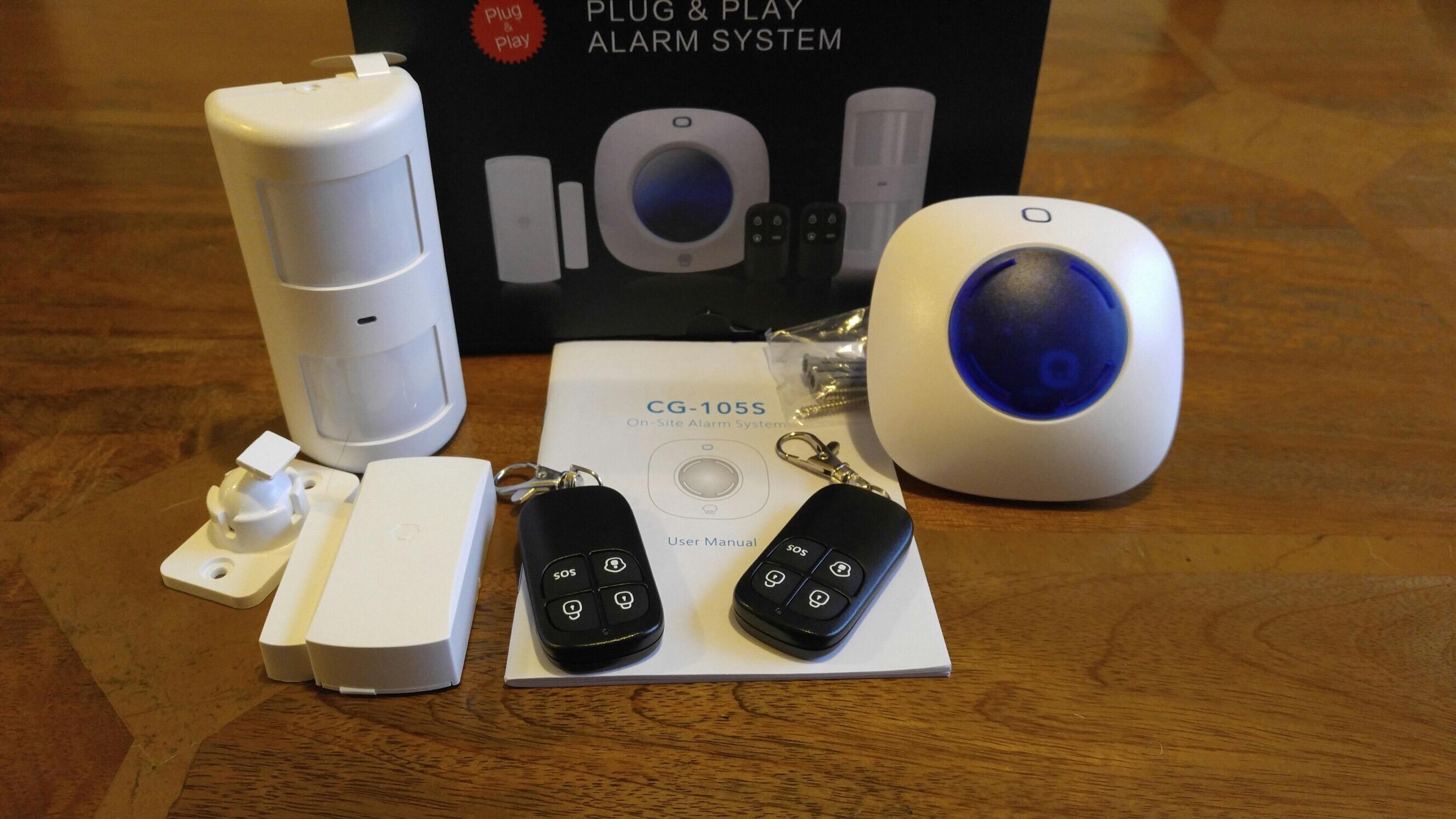 miguard a105 diy alarm system my review gavin 39 s gadgets. Black Bedroom Furniture Sets. Home Design Ideas