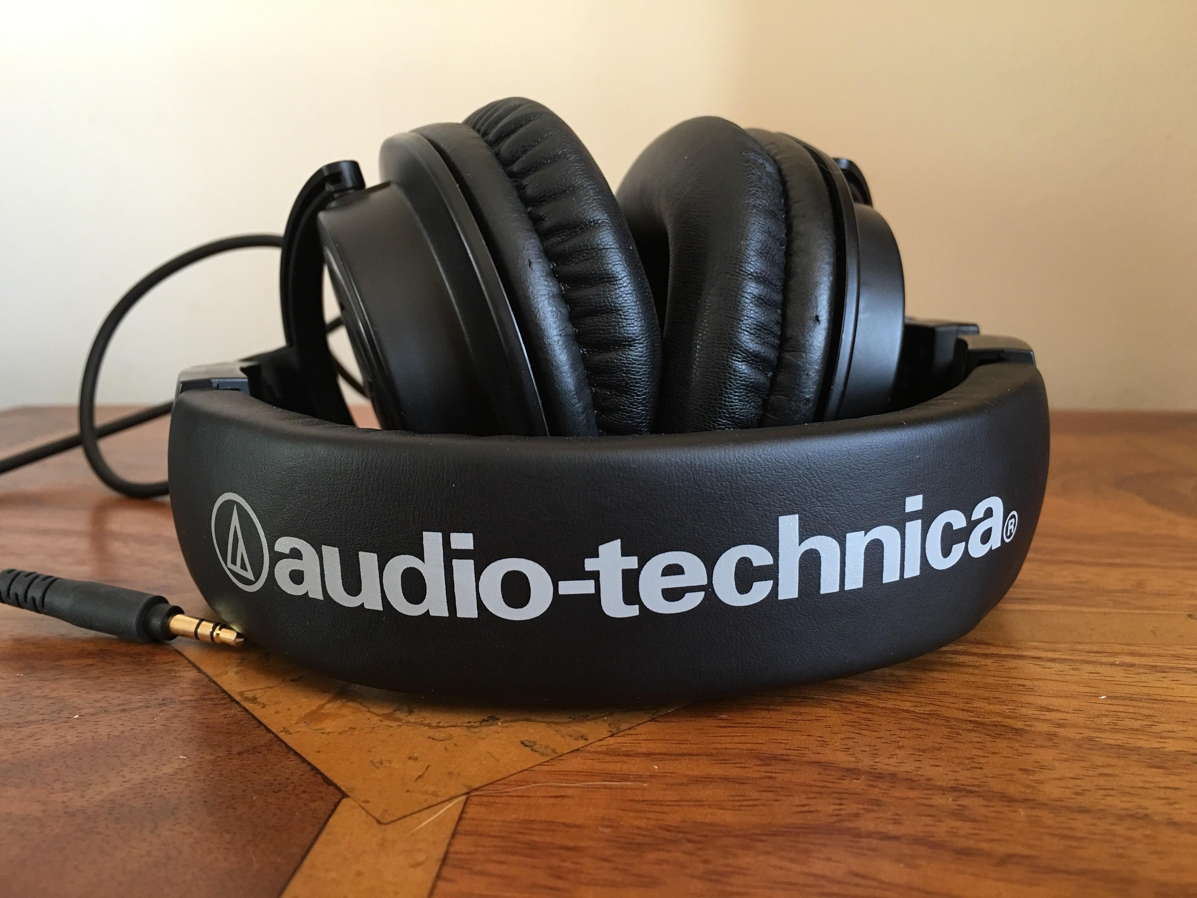 Audio Technica Ath M50x Headphones Review Gavins Gadgets M40x Monitoring Headphone