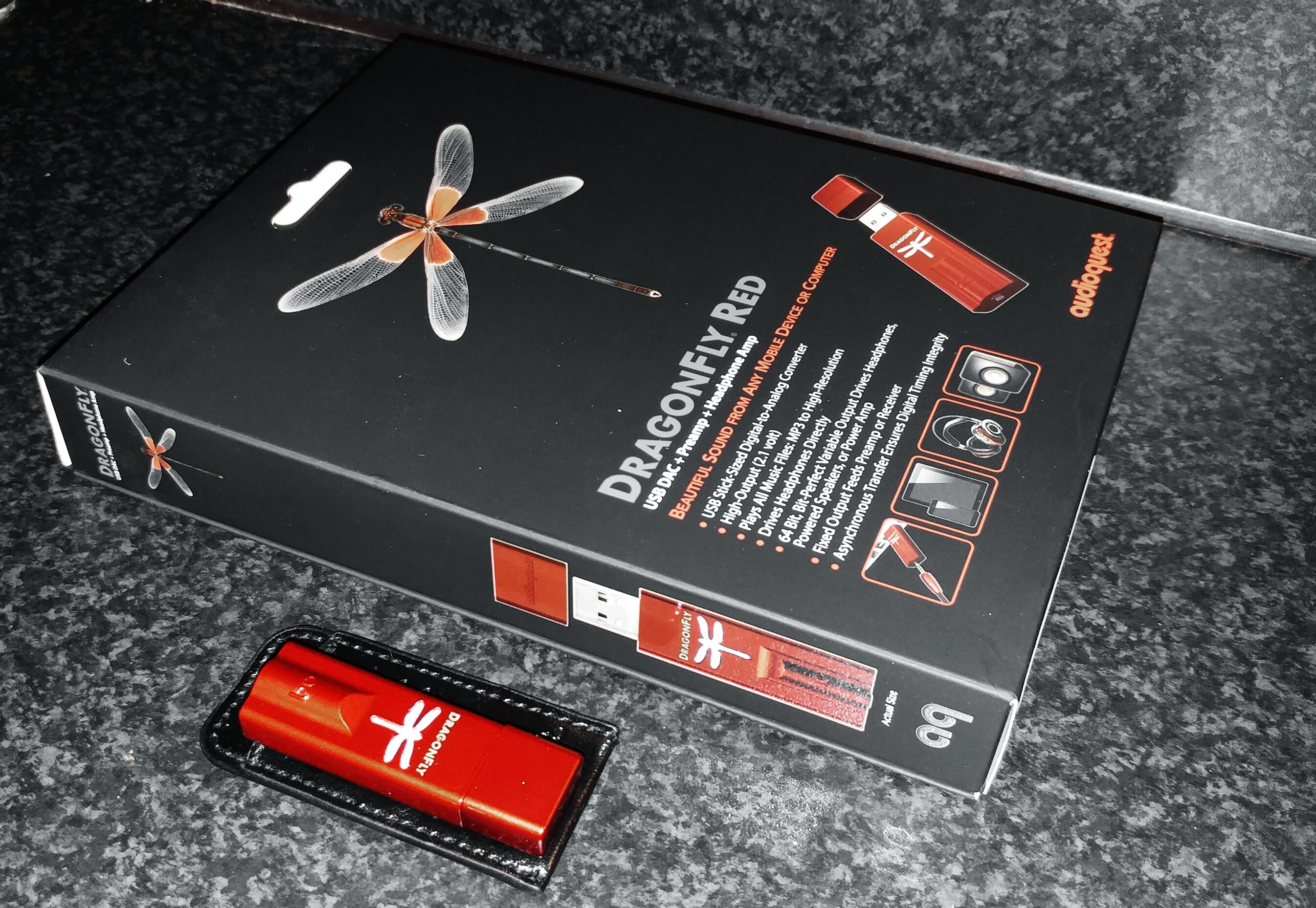Audioquest Dragonfly RED – The Latest & Greatest DAC the