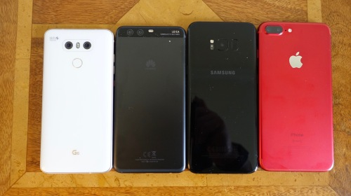 HUAWEI P10 VS IPHONE 6 PLUS GSMARENA