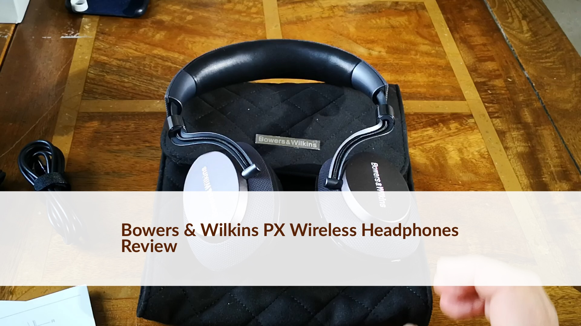 Bowers Wilkins Px Wireless Headphones Review Audio Nirvana Active Noise Cancelling Without The Wires Gavins Gadgets